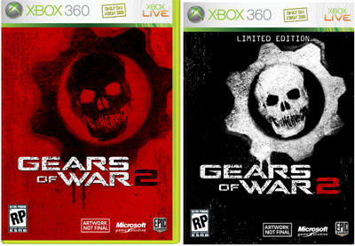Gears of War 2 Limited Edition Regular Boxart
