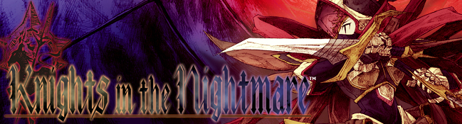 Atlus Announces Knights in the Nightmare