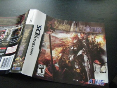 Knights in the Nightmare Crinkled Box Art