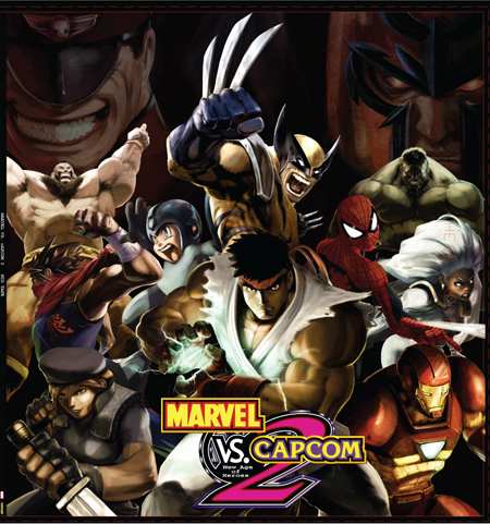 Marvel Vs. Capcom 2 Remix Cover