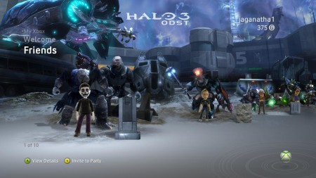 Halo 3 ODST Theme Free to Gold Members