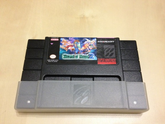 Secret of Mana 2 Front Cartridge