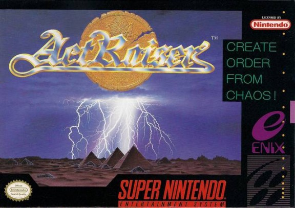 ActRaiser Box Cover